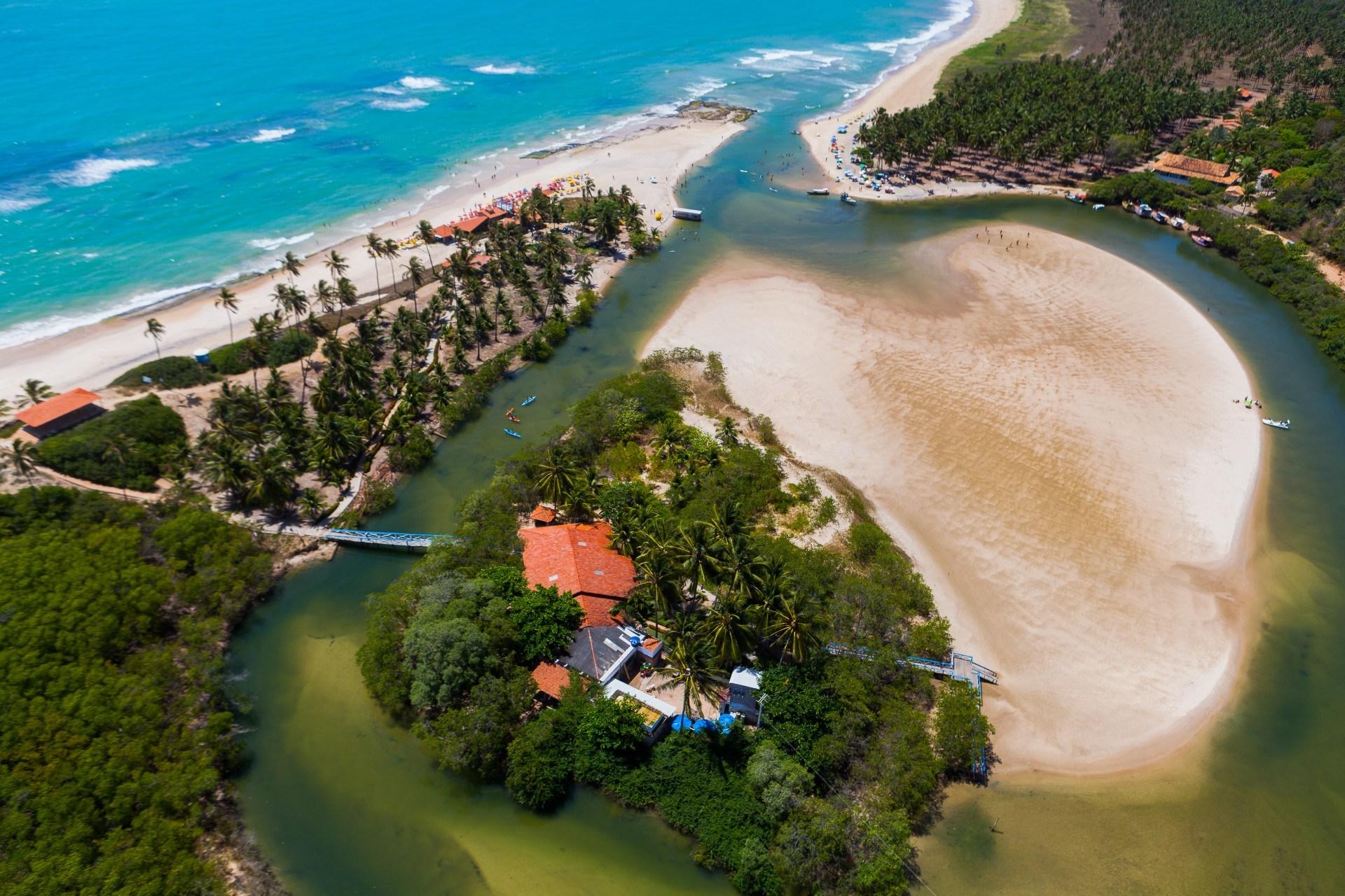 Jequiá da Praia Alagoas fonte: ama-al.com.br